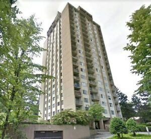 Lougheed Two bedroom Highrise Condo For Rent