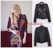 Punk Rock Leather Jacket