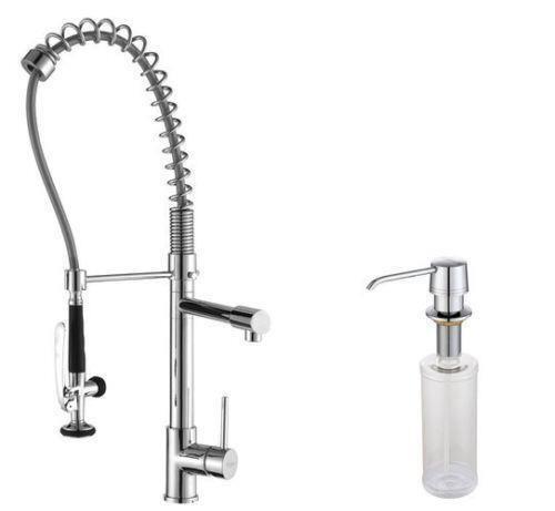 Professional Kitchen Faucets: Commercial Style Kitchen Faucet