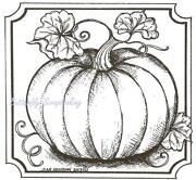 Fall Rubber Stamp