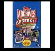 2012 Topps Archives Base Set
