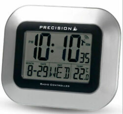 PRECISION RADIO CONTROLLED LARGE SCREEN LCD WALL OR DESK CLOCK NUMEROUS DISPLAYS