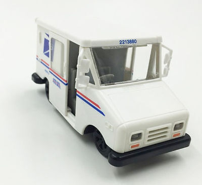 USPS United States Postal Service Mail Toy Truck Delivery Diecast Model Truck
