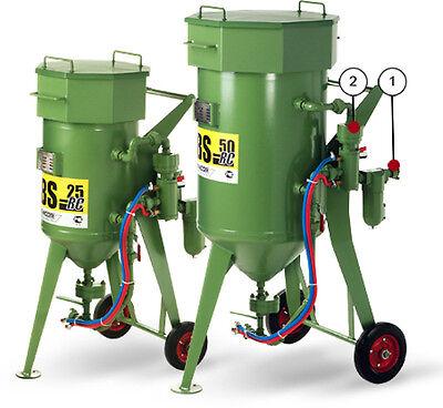 Sandstrahlgerät 50l Komplettpaket mit Fernsteuerung / Schlauch / Düse