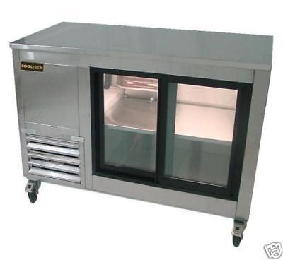 Cooltech Sliding Doors Back Bar Display Cooler 48