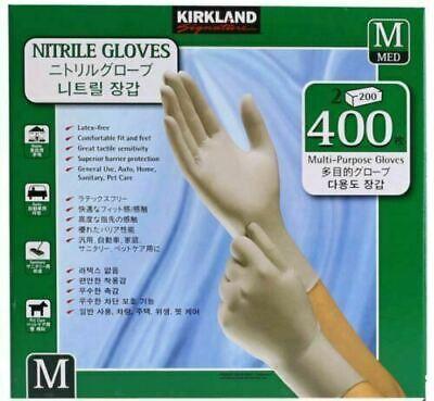 [Kirkland] Signature Nitrile Exam Multipurpose Gloves 200 PCS *2