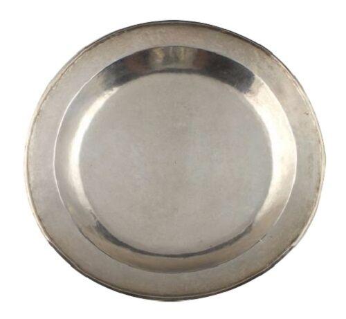 18th Century Spanish Colonial Silver Dish