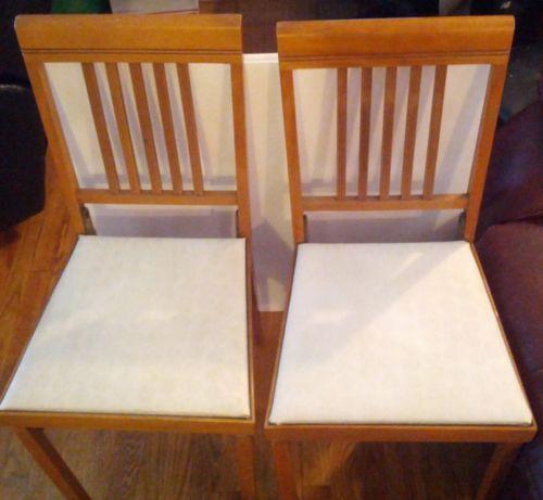 Vintage Folding Chairs Ebay