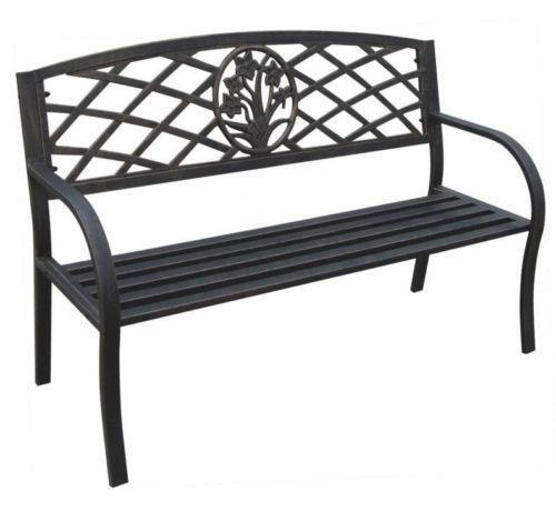 cast iron garden furniture ebay