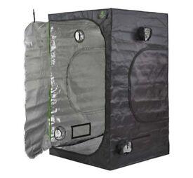 Hydroponics 1.2m x 1.2m x 1.8m Green Box LOW Indoor Grow Tent Bud Dark Room Box