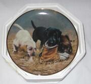 Franklin Mint Labrador Plates