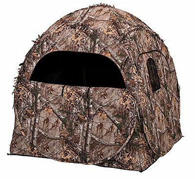 Dog House Blind - Evolved Ingenuity 1RX2S010 Hunting Doghouse Ground Blind, Camo Pattern, 60 x 60