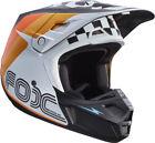 Orange Men Motocross Helmets