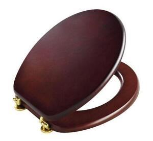 Wooden Soft Close Toilet Seats