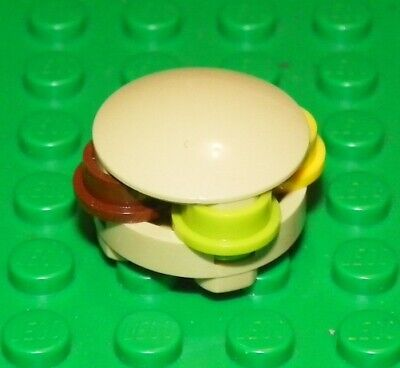 LEGO Spongebob - Minifig, Food / Drink - Krabby Patty / Hambuger