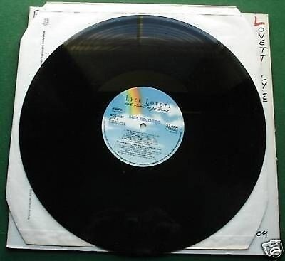Lyle Lovett & Big Band Absolutely Excellent Condition LP Plain Cover