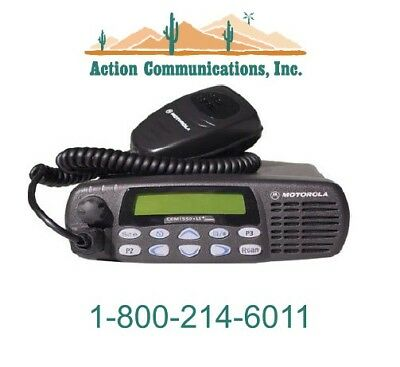 New Motorola Cdm1550ls Vhf 136-174 Mhz 45 Watt 16 Ch Mobile Radio