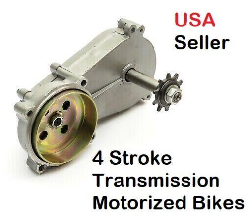 49cc 4-stroke Motorized GAS ENGINE parts - Gear Box Transmission USA SELLER