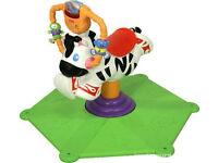 Fisher Price Zebra . Go Baby Go! Bounce & Spin Zebra