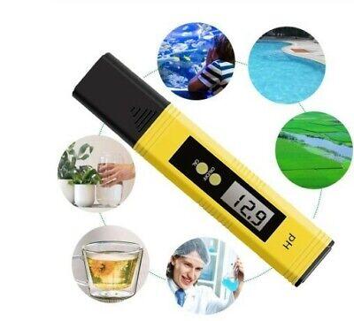 Medidor de pH Pluma de Probador de Acuario Hidropónico de Agua Eléctrico...