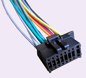 wiring harness fits pioneer deh x7500s deh x8500bh deh x8500bs deh x9500bhs 16a2