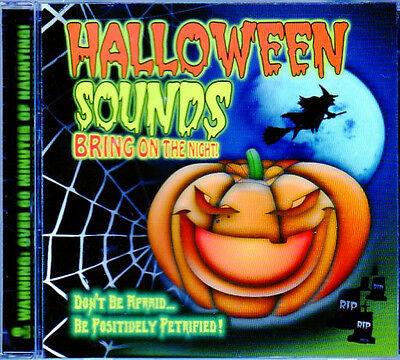 Halloween Over Bring On Christmas (HALLOWEEN SOUNDS: BRING ON THE NIGHT - WARNING: OVER 60 MINUTES OF HAUNTING!)