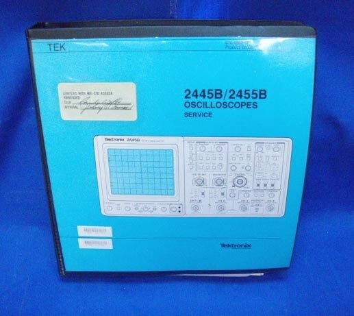 Tektronix 2445B/2455B Oscilloscopes  SERVICE Manual