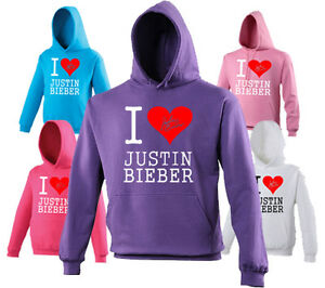 I-LOVE-JUSTIN-BIEBER-HOODIE-HOODED-JUMPER-SWEATER-CHILDS-KIDS-LADIES
