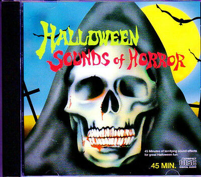 Halloween-sounds, Horror Musik (HALLOWEEN SOUNDS OF HORROR: VINTAGE 1995 HAUNTED HOUSE SOUND EFFECTS! OOP! RARE!)