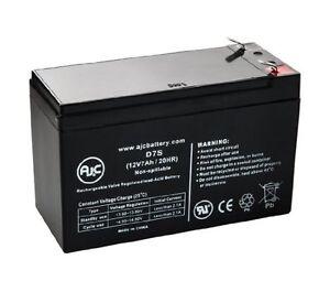 Lot de 8 batteries au plomb : CSB GP1270 F2 12V 7Ah Pb
