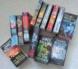 James ROLLINS == Paperback Novels