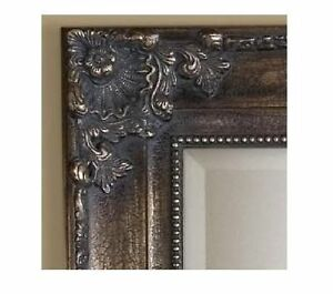 xl tuscan ornate full 75 length bronze wall floor mirror extra large ebay. Black Bedroom Furniture Sets. Home Design Ideas