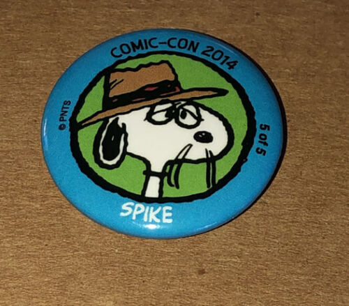 Peanuts Daisy Hill Puppy Farm Spike Button/Pinback SDCC 2014 Exclusive Snoopy