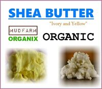Organic Shea Butter - Choose Ivory or Yellow from Burkina Faso