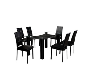 DINING TABLE SET - 6 Chairs +Table
