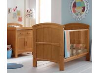 Cosatto Hogarth 3-in-1 Cot Bed and Changer - Light Country Pine