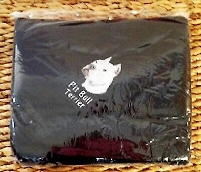 EMBROIDERED PERSONALIZED PIT BULL TERRIER FLEECE THROW DOG LOVER BLANKET GIFT