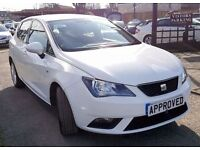 SEAT IBIZA 1.4 SE 3d 85 BHP Great first time driver car! (white) 2012