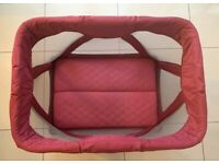 Nuna Sena Mini Travel Cot Bed Condition Very Good
