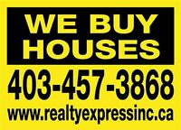 We Buy Houses, CA$H!  Any Condition – Any Area