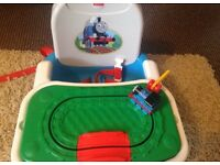 Fisher price Thomas and Friends tray play booster seat