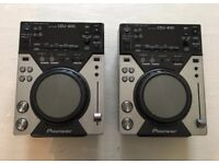 Pioneer Cdj 400 PAIR Good Condition