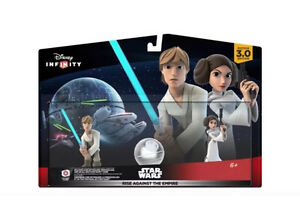 Disney infinity Star Wars Luke Leia playset - rise against the empire South Hurstville Kogarah Area Preview