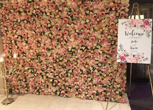 Peony LARGE Flower wall for rent $250 wedding bridal shower baby