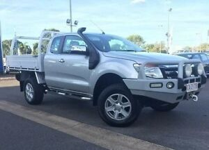 2011 Ford Ranger PX XLT Super Cab Silver 6 Speed Sports Automatic Utility Berrimah Darwin City Preview