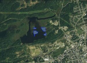 7.9 AC Private Island in Northern Ontario Waterfront Land Lake!