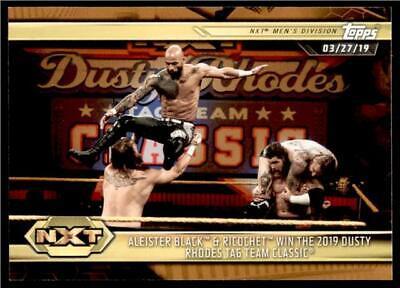 2019 Topps WWE NXT #13 Ricochet Wrestling Trading Card