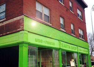 Year Round Garage Sale!! Earth Shop 1170 Main St.