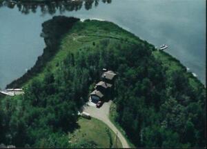 4.77 ACRES OF WATERFRONT PARADISE ON JACKFISH LAKE