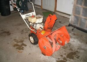 Looking for a snowblower